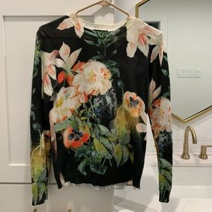 Ted Baker Floral Sweater